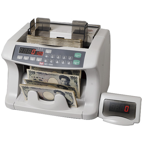 【キャッシュレス5%還元】《送料無料》エンゲルス ノートカウンター 紙幣計数機(投票用紙対応モデル) NC-500V【smtb-f】