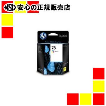 【キャッシュレス5%還元】HP インクカートリッジ C6578D カラー