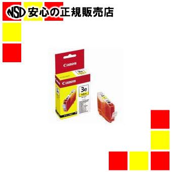 【キャッシュレス5%還元】キヤノン インクカートリッジ BCI-3eY 黄 6個