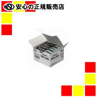 【キャッシュレス5%還元】カシオ計算機 テープ XR-9X-20P-E 透明に黒文字 9mm 20個