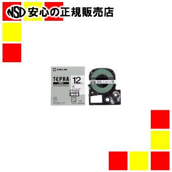 キングジム 強粘着ラベル SS12KW 新作続 正規激安 白に黒文字 12mm
