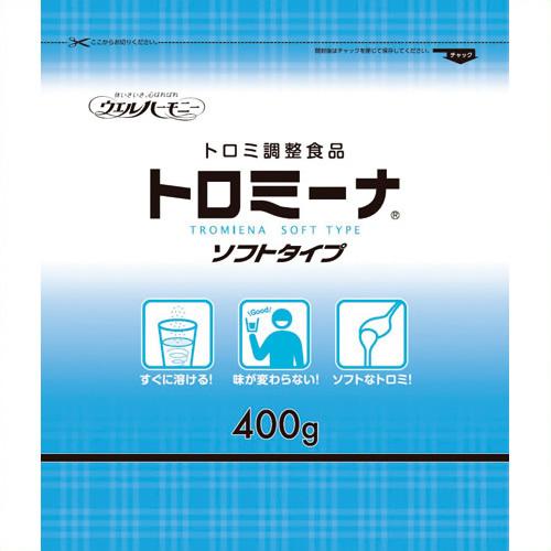 《ウェルハーモニー》 トロミーナ ソフトタイプ 400g 10袋