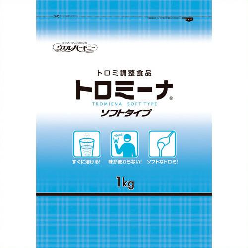 【キャッシュレス5%還元】《ウェルハーモニー》 トロミーナ ソフトタイプ 1kg 10袋
