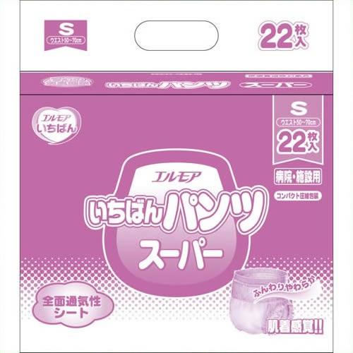 《カミ商事》 いちばんパンツスーパーS22枚×6P