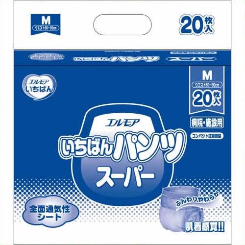 《カミ商事》 いちばんパンツスーパーM20枚×6P