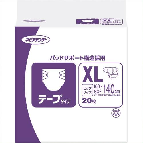 《王子ネピア》 ネピアテンダーテープタイプ XL 10P