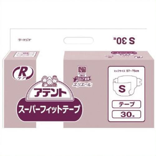 【キャッシュレス5%還元】《大王製紙》 アテントRケアスーパーフィットテープS 3P