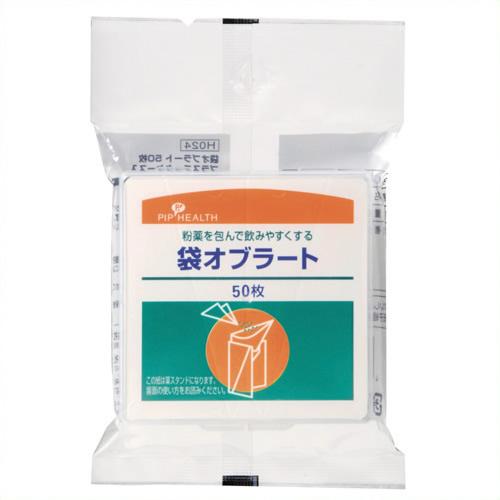 《ピップ》 H024袋オブラ-ト50枚入り 30パック