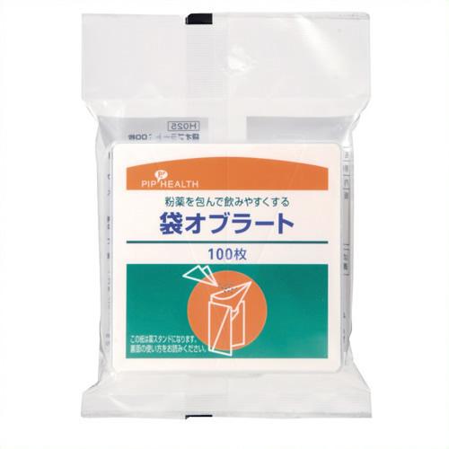 《ピップ》 H025袋オブラ-ト100枚入り 20パック