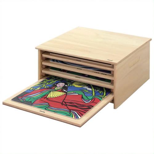 《DLM》 木のジグソーパズル整理箱 AS1000 AS1000