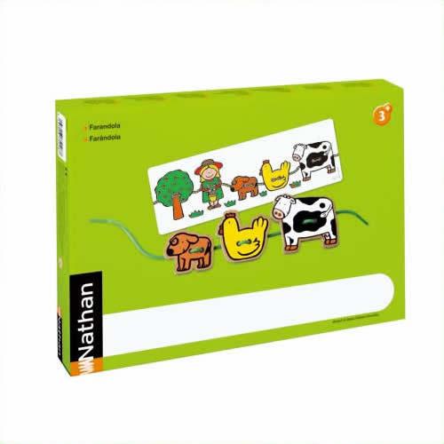 《DLM》 木製ひもとおし 見本カード付き 375128 375128