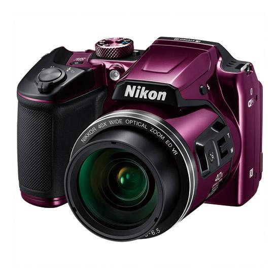 【キャッシュレス5%還元】《ニコン》 デジタルカメラ COOLPIX B500PLM プラム COOLPIX B500PLM