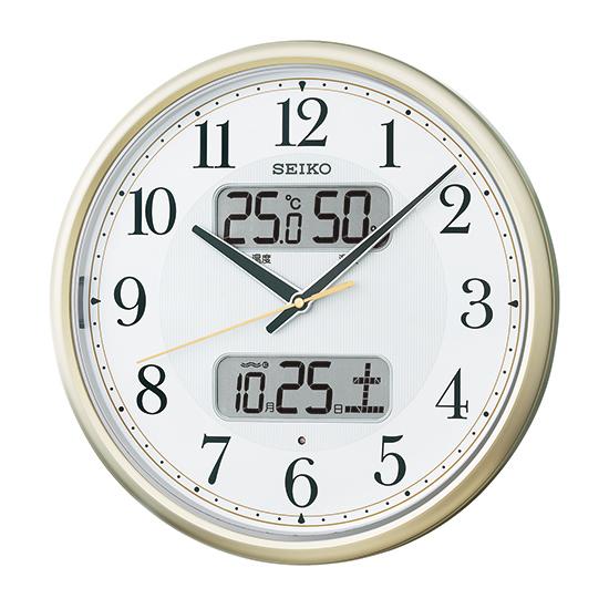 《セイコークロック》 セイコー 電波掛時計 KX384S KX384S