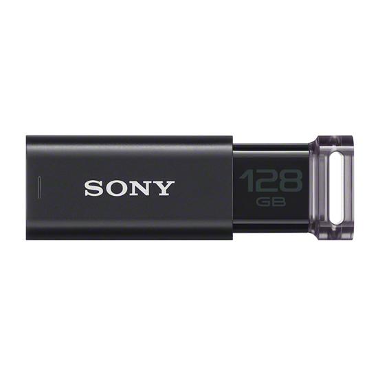 【キャッシュレス5%還元】《SONY》 USBメモリー 128GB USM128GU B ブラック USM128GU B