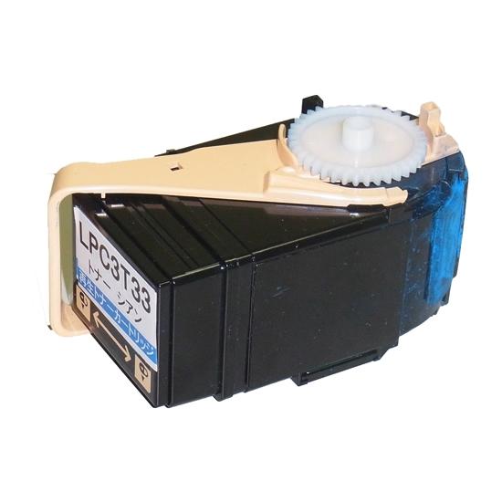 《ハイパーマーケティング》 リサイクルトナー LPC3T33C シアン LPC3T33Cサイセイ