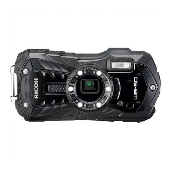 【キャッシュレス5%還元】《リコー》 デジタルカメラ WG-50BK