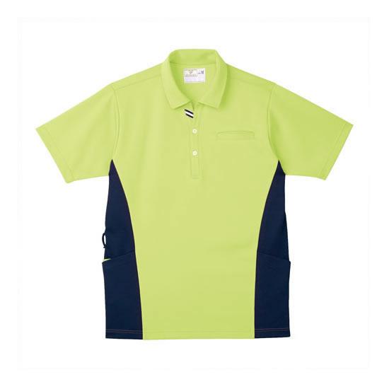 【キャッシュレス5%還元】《トンボ》 ケアワークシャツ ライム S