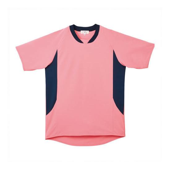 【キャッシュレス5%還元】《トンボ》 入浴介助用シャツ CR108 ピーチ 4L