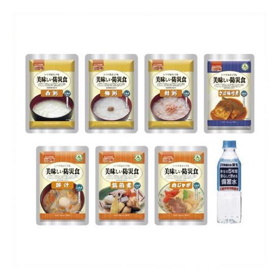 【キャッシュレス5%還元】《アルファフーズ》 おいしい防災食 和食セットA