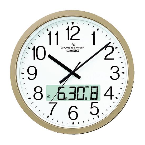 《カシオ計算機》 カシオ電波掛時計 IC-4100J-9JF