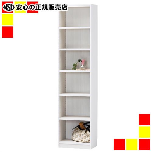 【キャッシュレス5%還元】《 白井産業 》 ★木製棚タナリオ TNL-1844 ホワイト