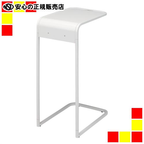 【キャッシュレス5%還元】《 トヨダプロダクツ 》 ★サイドテーブル NA13-ST ホワイト