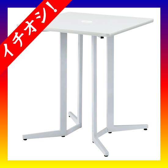 期間限定★イチオシ家具 NK ■ハイテーブル KHH-0909-WH ホワイト