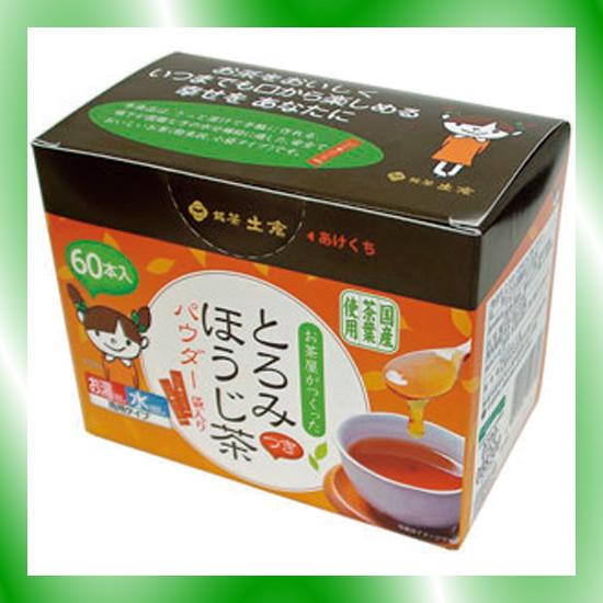 《土倉》 とろみほうじ茶 1g×60本 30箱