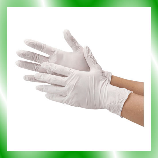 《川西工業》 ニトリル使い切り手袋 #2060 ホワイト S 10箱