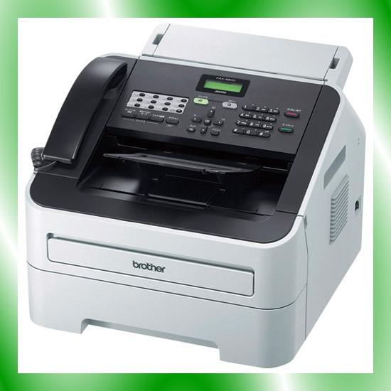 《ブラザー》 モノクロレーザーファクス FAX-2840