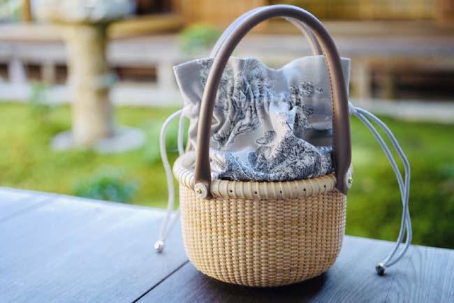 【送料無料】【限定】ナンタケットバスケット・6インチ・インナーバッグ付き【欧米セレブ達を魅了する伝統のバスケット/アメリカ・ナンタケット島で生まれた伝統の「世界一美しいかご」】