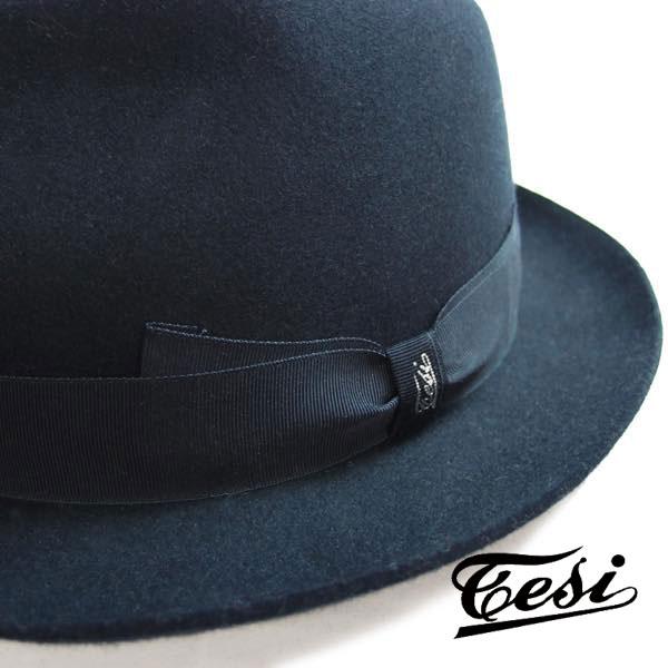 TESI(テシ)メリノウール中折れハット スーツ帽子 送料無料