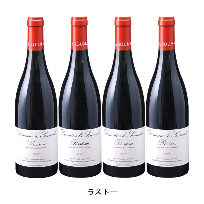 最新入荷 [ 4本 まとめ買い ] ラストー ( ドメーヌ ラ スマド ) フランス 赤ワイン フルボディ 750ml×4本, ファイルドショップ 9cecfca3