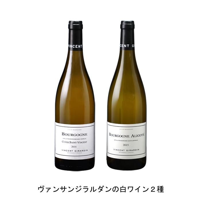 お得セット ワイン 白ワイン フランスワインフランス白ワインセット まとめ買い 飲み比べ 2018年 ブルゴーニュ ブラン サン キュヴェ ヴァンサン アリゴテ 2016年 750ml 交換無料 の各1本づつの2本セット と
