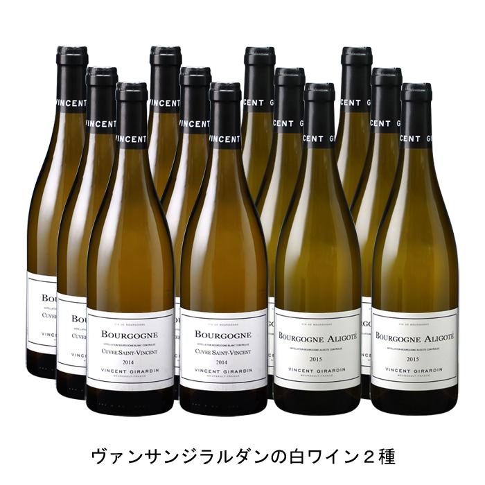 ワイン 白ワイン フランスワインフランス白ワインセット まとめ買い 飲み比べ 2018年 ブルゴーニュ ブラン サン 春の新作 750ml の各6本づつの12本セット ヴァンサン アリゴテ と 2016年 マーケティング キュヴェ