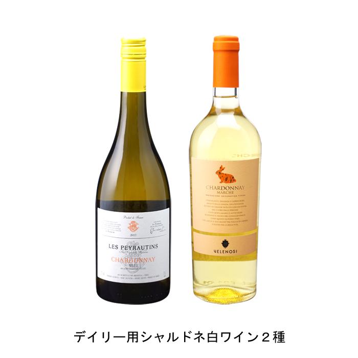 ワイン 白ワイン フランスワイン 割り引き フランス白ワイン イタリアワイン イタリア白ワイン ワインセット まとめ買い 飲み比べ の各1本づつの2本セット ペイ 2020年 2019年 750ml ヴェレノージ シャルドネ おすすめ特集 と ドック