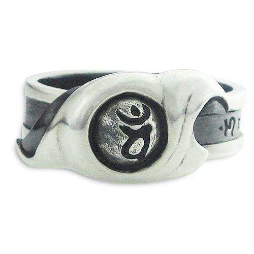 梵字アクセサリー シルバーリング 「魂流(こんりゅう)」改 13号-26号 指輪 神音梵字SVR