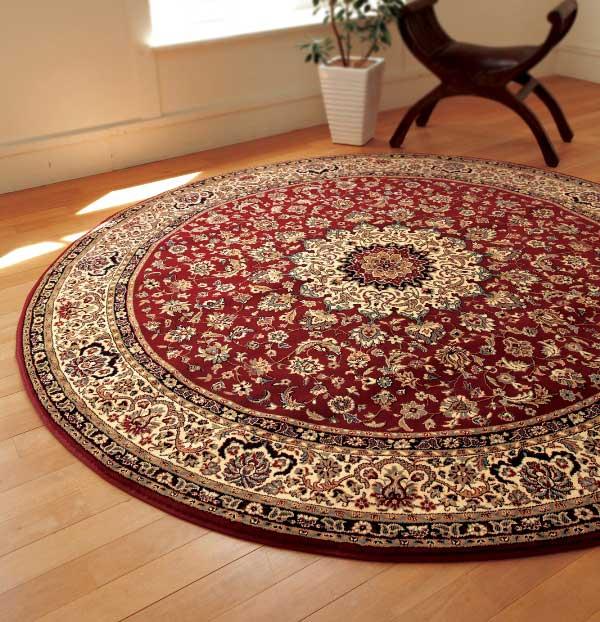 【送料無料】LANO Belgium Brand Carpet Kasbah カスパ 200丸型 (ラグ、マット、カーペット)