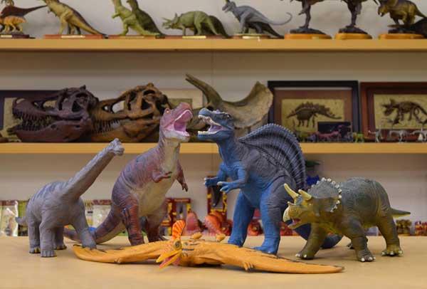 恐竜 ビニールモデル プレミアムエディション 5種類セット(73351-73352-73353-73354-73355)