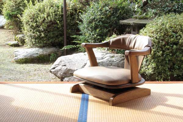 セール特価 ゆったり座れるロータイプのロッキング式回転座椅子 イージーロッキングチェアJTZ01 無料サンプルOK
