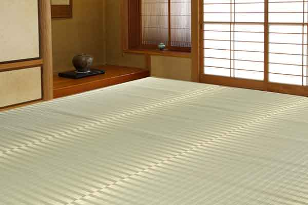 掛川織花ござ かげろう 6畳 264X352cm(い草マット、畳)