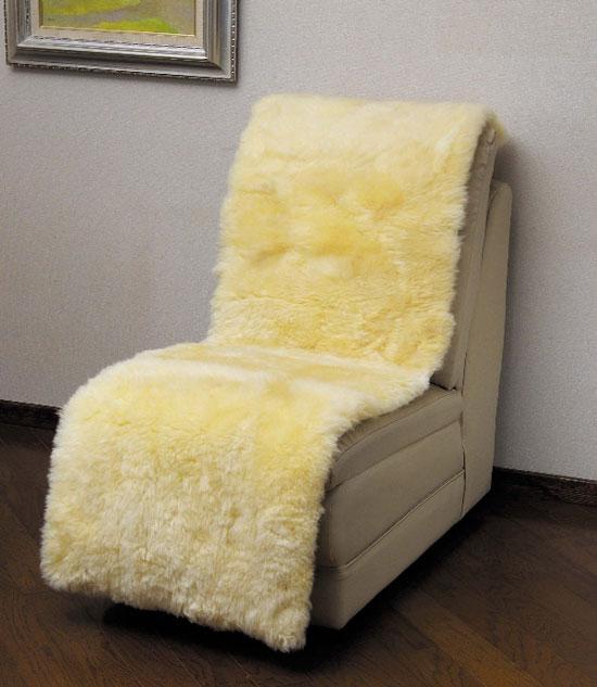 ムートン椅子カバー 100×160 MG7100(ソファーカバー、マット)