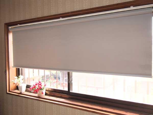 遮光2級防炎ロールスクリーン 180×220(目隠し、カーテン)