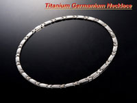 Titanium germanium 240 grain necklace BFI-072