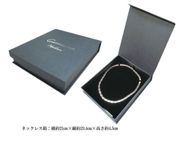 Germatitanium necklace germa360 stone (entering high-quality magnet case) HW1