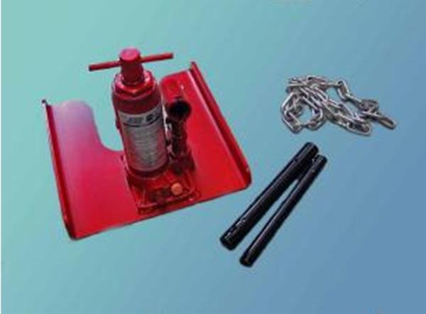 かんたん杭抜き器(油圧式)