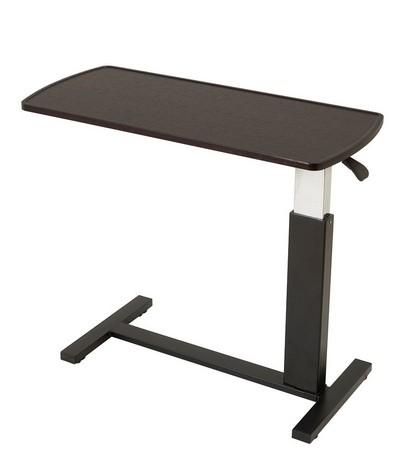 ガス圧 昇降式 テーブル 高さ調節 無段階 リフティングテーブル フリーテーブル 90cm幅 キャスター付