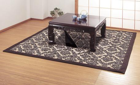ゴブラン織掘こたつ用ラグ(ドルチェ)正方形(ラグ、カーペット)
