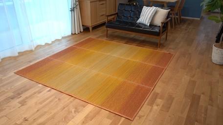 KOBA-GUARD加工い草ラグ 世界の人気ブランド 小林製薬 126×190cm い草ラグ ふるさと割 い草マット