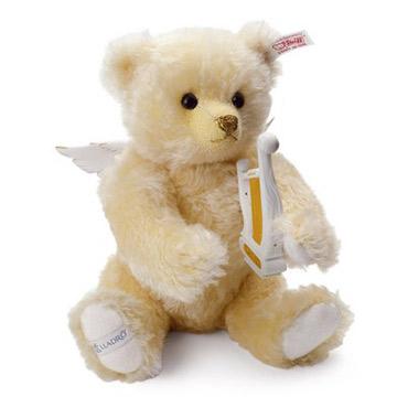 リヤドロ×シュタイフ コラボレーション 天使の調べ(オルゴール) 40091 限定2000体 テディベア ぬいぐるみ